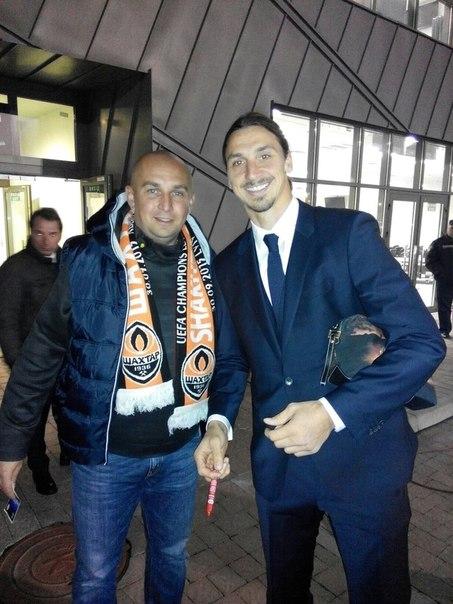 Zlatan Ibrahimovic i Sprawniejsi.pl